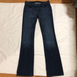 7 For All Mankind High Waist Bootcut 28